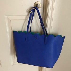 Kate Spade Lily Avenue Blue/Aqua Tote